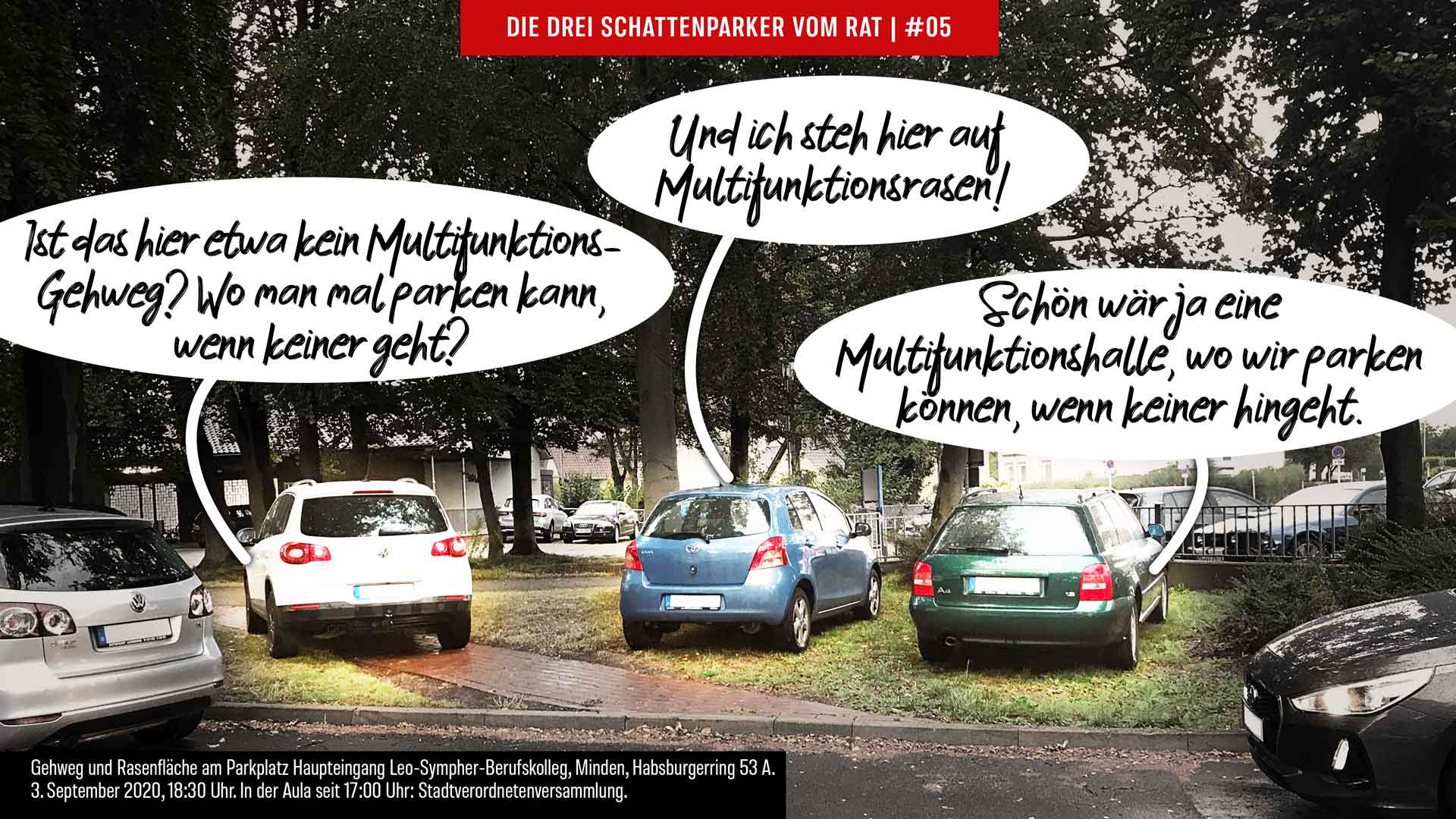 Episode 05 Die drei Schattenparker vom Rat Minden