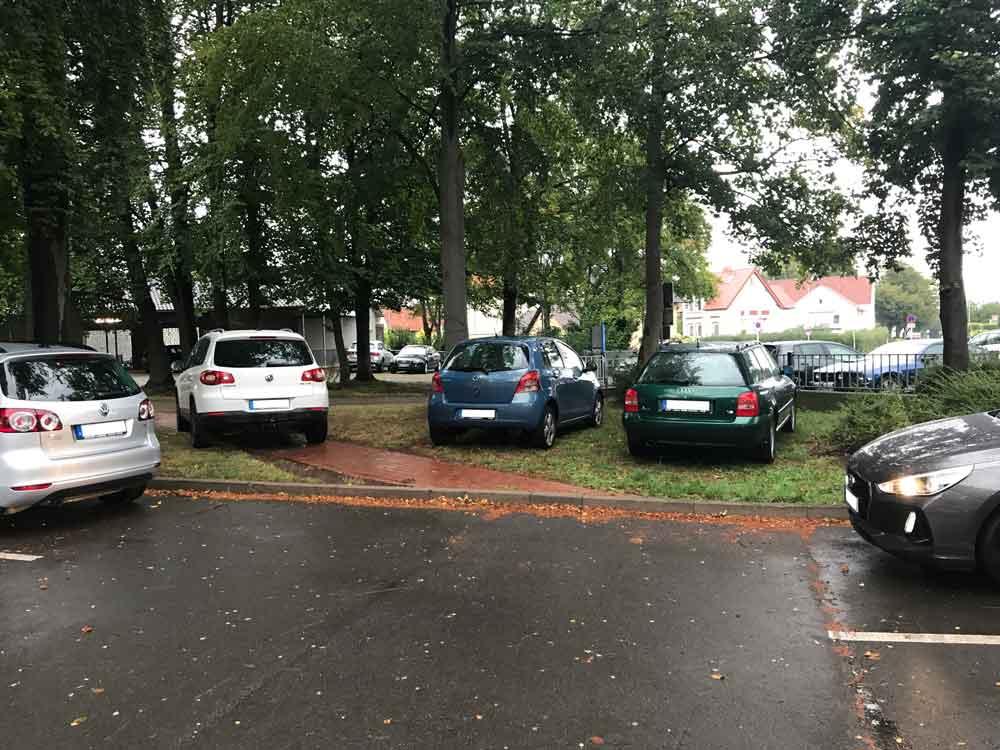 """Ausgangsfoto zur Serie """"Die drei Schattenparker vom Rat"""""""
