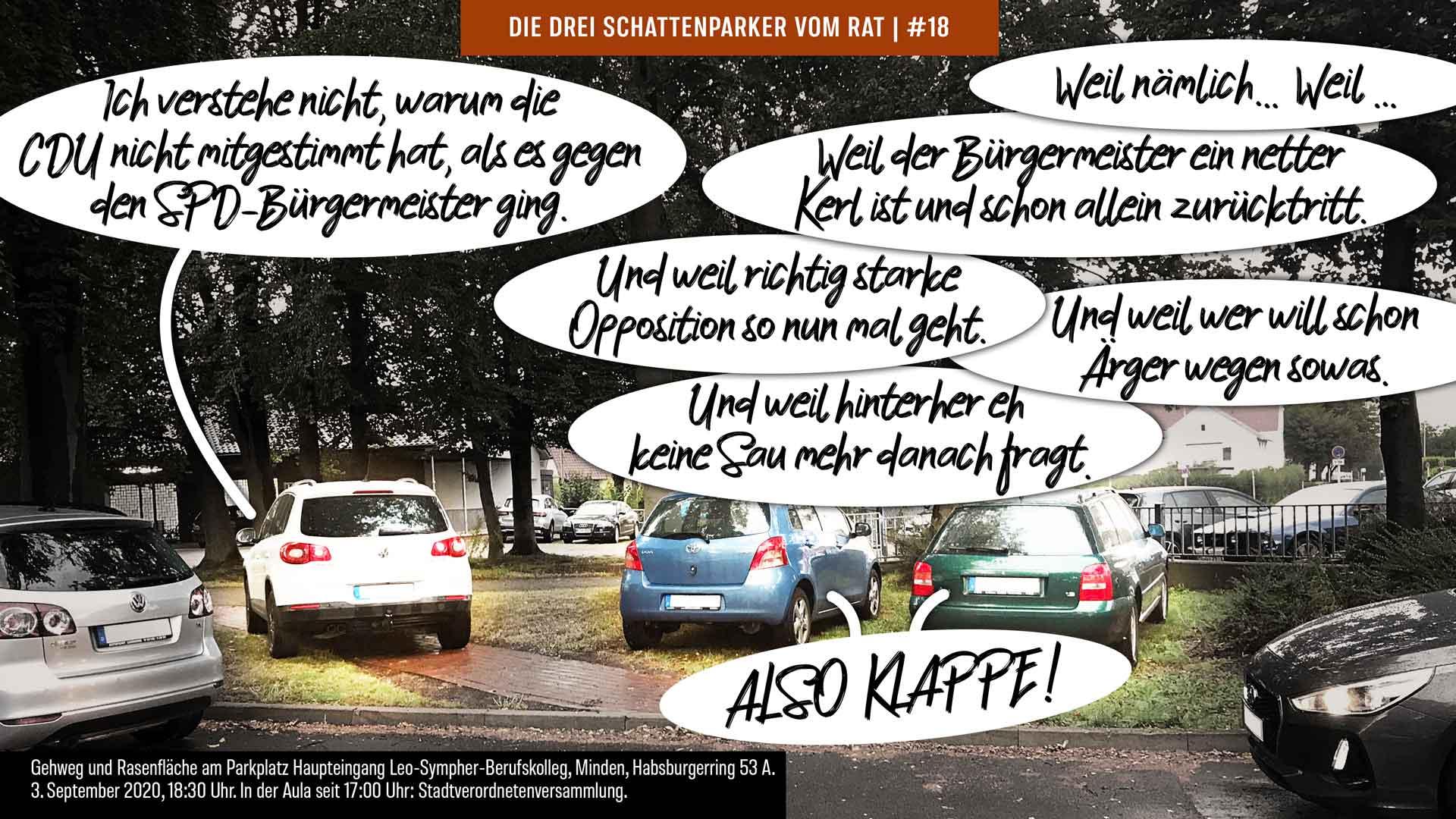 Episode #18: Die CDU gibt ein schwaches Bild ab in der Opposition